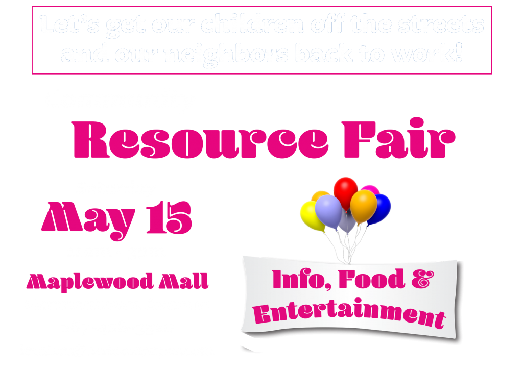 Resource Fair - Maplewood Mall - May 15